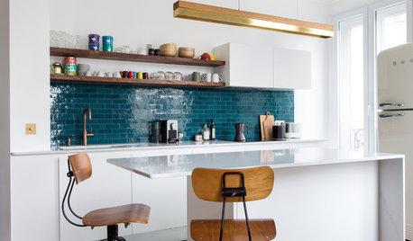 12 idées de crédences qui twistent les cuisines blanches