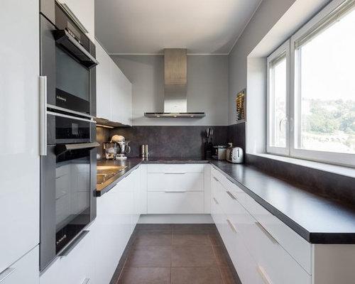 Cuisine moderne ferm e photos et id es d co de cuisines for Placard cuisine moderne
