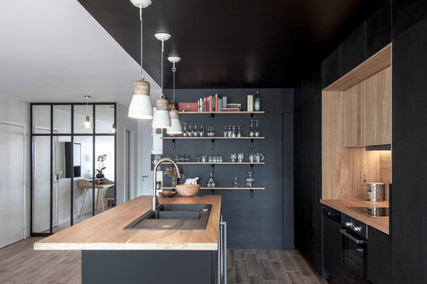 Scandinavian Kitchen by Bertrand Fompeyrine Photographe