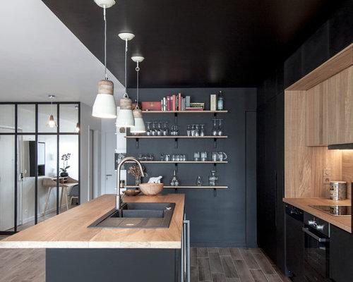 Cuisine de taille moyenne photos et id es d co de cuisines - Taille moyenne cuisine ...