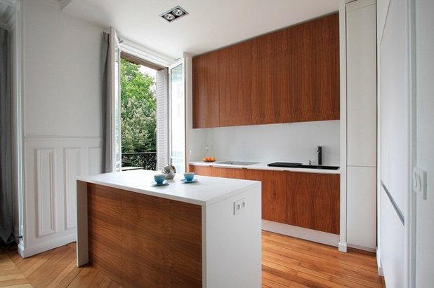 Modern Küche by Gaëlle Cuisy + Karine Martin, Architectes dplg
