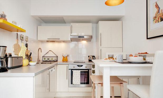 Casas Houzz: De oficina a luminoso apartamento en el centro de París