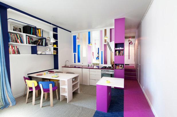 Contemporary Kitchen by Aude Borromée