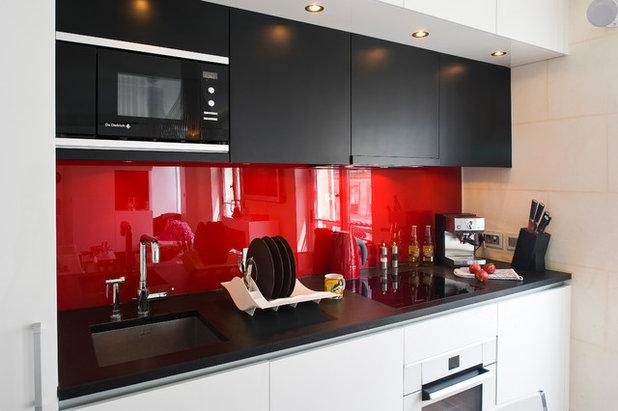 Cocina gu a de materiales y precios para el frente de - Cristal templado cocina precio ...