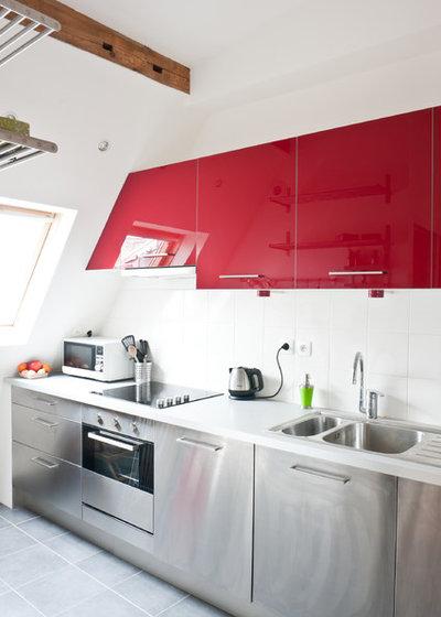 Contemporain Cuisine by Yves Mahieu - SPOUTNIK architecture