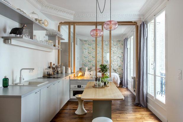 Scandinavian Kitchen by Olivier Chabaud Architecte