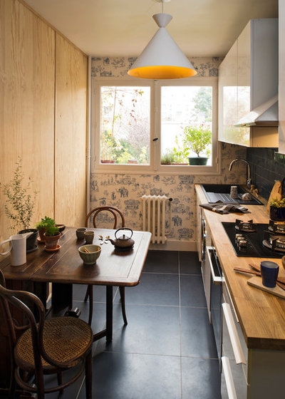 Eclectic Kitchen by Atelier Olivier Bourdon
