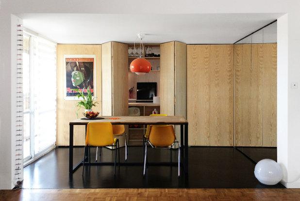 Contemporain Cuisine by Trames architectes