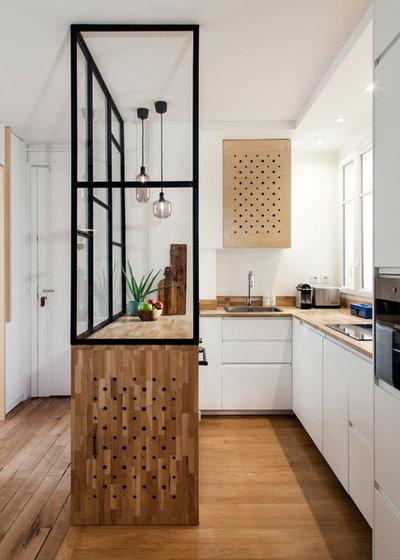 Современный Кухня by BCDF studio