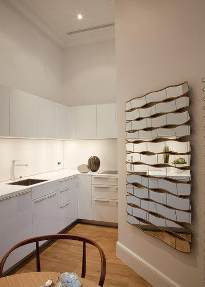 Comment d corer un mur libre dans la cuisine - Decorer un grand pan de mur ...