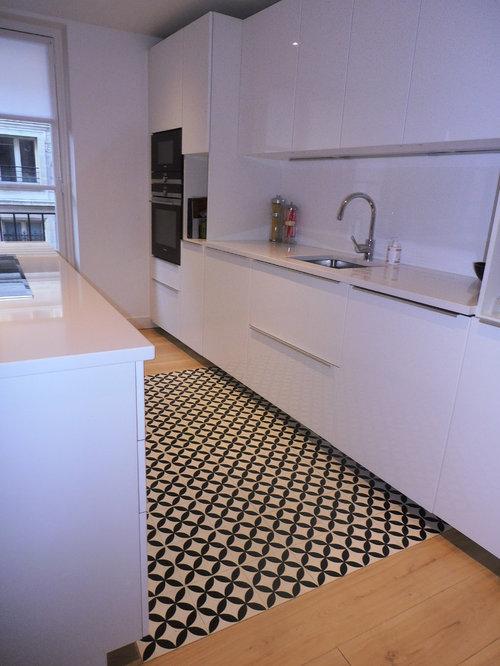 Purple Expansive Kitchen Design Ideas Pictures