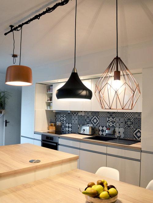 Kitchen design ideas renovations photos with laminate - Architecte d interieur clermont ferrand ...