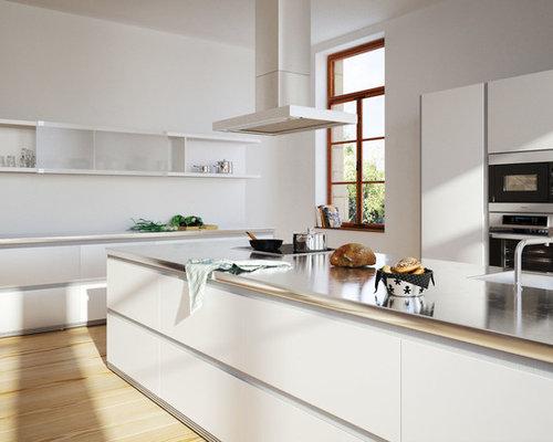 Cuisine moderne photos et id es d co de cuisines for Quel sol pour une cuisine en bois