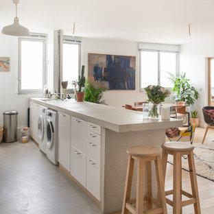 Esempio di una cucina nordica