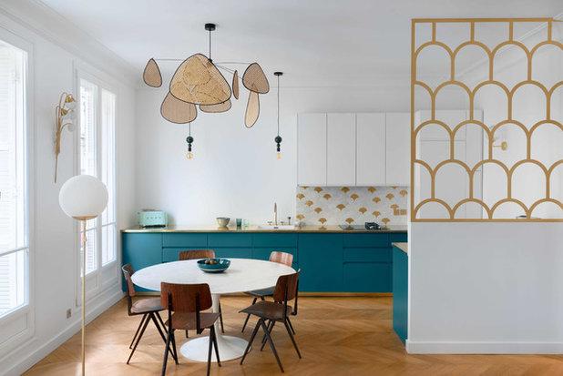 Scandinavian Kitchen by Pascal Godreau Créations