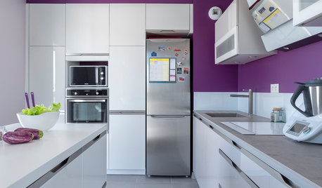 6 Places to Punch Up a Kitchen With Purple