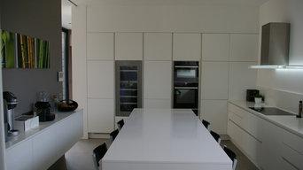 Conception cuisine et agencement - maison à Larmor Plage