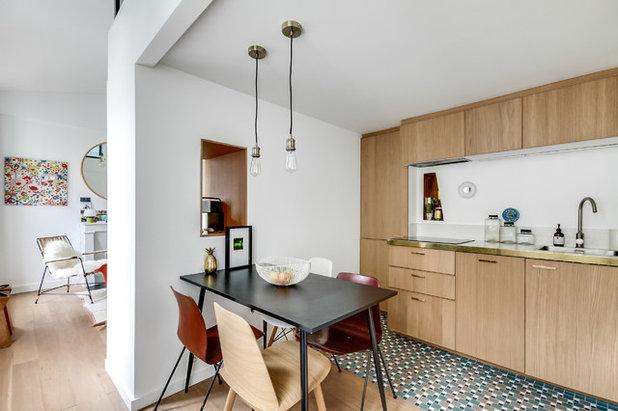 Idee per abbinare cucina in legno e paraschizzi