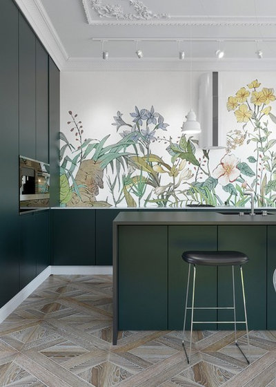Modern Küche Contemporary Kitchen