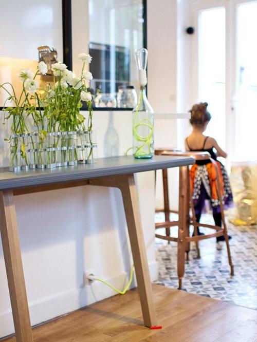 Cr ation d 39 une cuisine ouverte sur la salle manger for Cuisine ouverte sur salle a manger