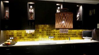 Crédence de cuisine en carreaux de verre - Paris 6