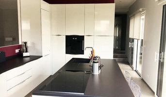 Cuisine - Aménagement d'une cuisine dans un pavillon à Marange