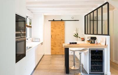 Avant/Après : Deux cuisines de 12 m² gagnent un coin repas malin