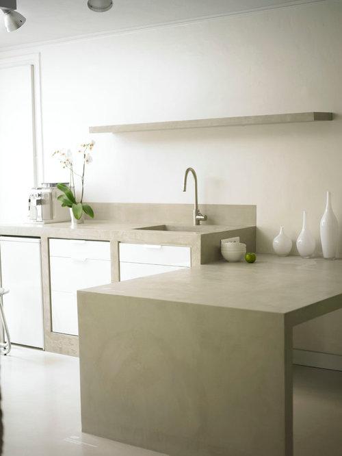 Cucina in muratura moderna - Foto e idee   Houzz
