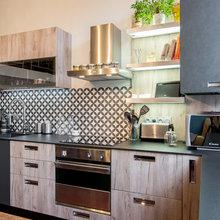 Cuisine Esprit Atelier Vintage Croix Rousse Industrial Kitchen