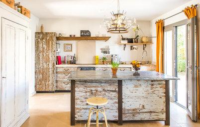8 Küchen gestaltet aus Holz, das sonst auf dem Müll gelandet wäre