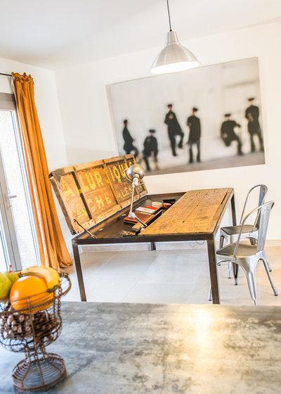 Eklektisch Küche by LPASSE DESIGN
