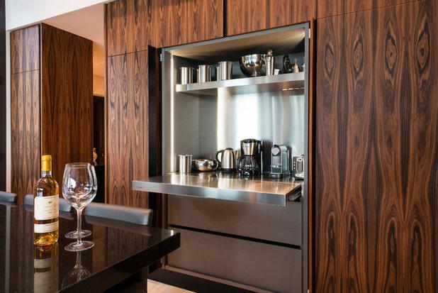 Zoom sur les nouvelles fa ades de cuisine en panneaux de bois for Panneau bois cuisine