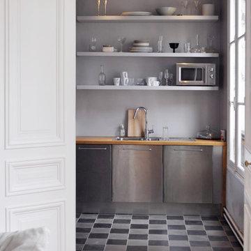 cuisine semi ouverte sur salon