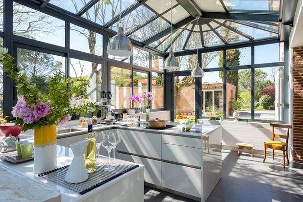 amenager une cuisine exterieure cuisine barbecue. Black Bedroom Furniture Sets. Home Design Ideas