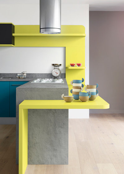 invitez le soleil en cuisine gr ce quelques touches de jaune. Black Bedroom Furniture Sets. Home Design Ideas