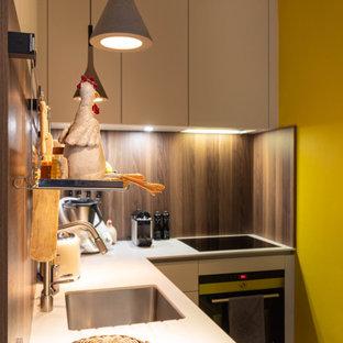 Décoration et création cuisine d'un appartement Rochelais