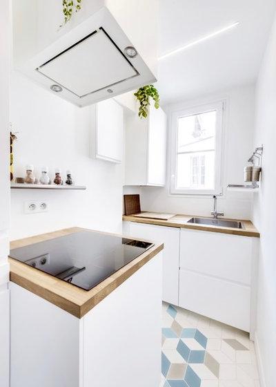 Ziemlich 1950 S Küche Renoviert Vor Und Nach Ideen - Küchen Ideen ...