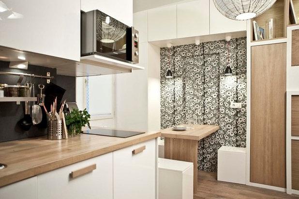 Progetti di Mini Appartamenti: 18mq a Parigi