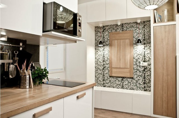 Small space living 12 innovative designs to maximise a for Arrangement petite cuisine