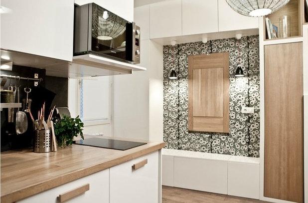 Progetti di mini appartamenti 18mq a parigi for Arredare mini appartamenti