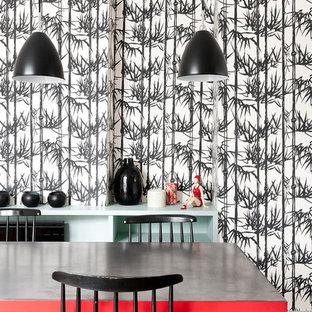 Industrial kitchen in Paris.
