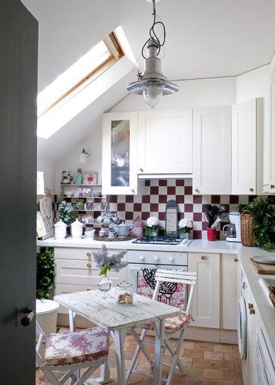 27 id es d co qui font le charme des cuisines campagne - Deco cuisine romantique ...