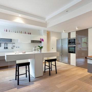Grand Appartement Parisien Lumineux