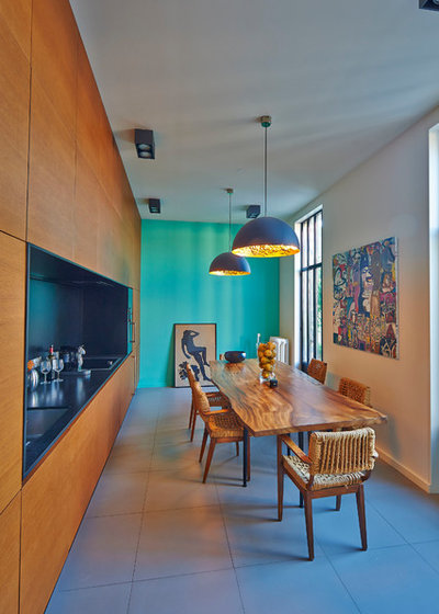 Contemporain Cuisine by HYBRE ARCHITECTE