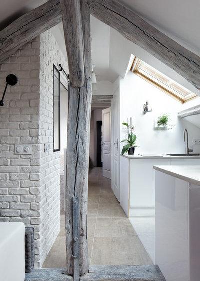 Contemporáneo Cocina by Hugo Hebrard photographe d'architecture