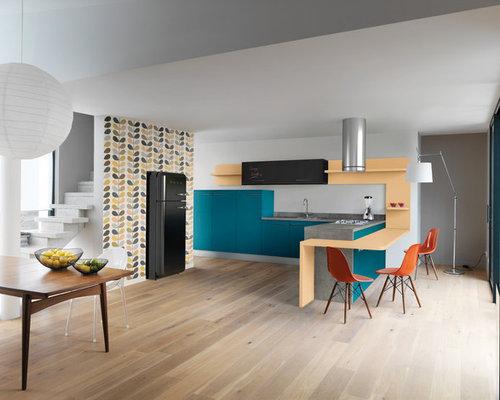cuisine r tro photos et id es d co de cuisines. Black Bedroom Furniture Sets. Home Design Ideas