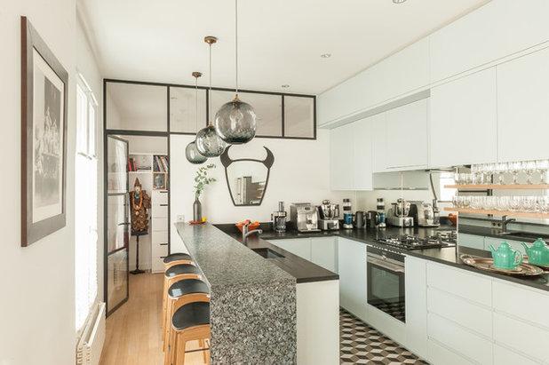 Contemporary Kitchen by maéma architectes