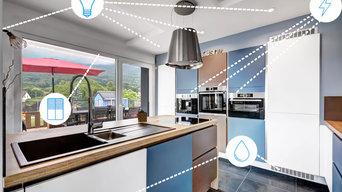 Intégration solution domotique Penthouse