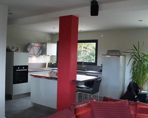75 Modern Clermont-Ferrand Kitchen Design Ideas - Stylish Modern ...