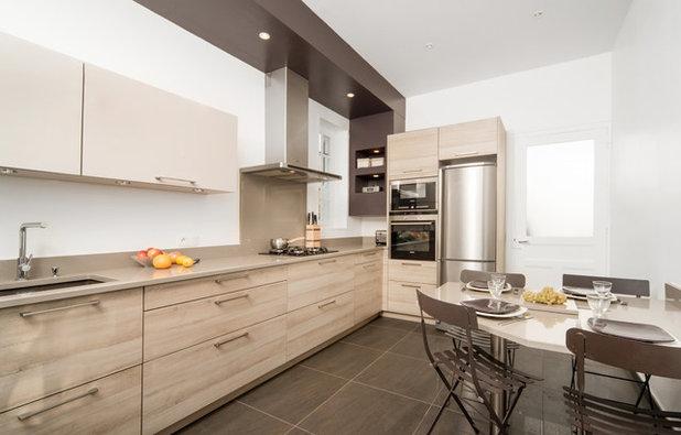 pensez aux niches de rangement pour optimiser votre cuisine. Black Bedroom Furniture Sets. Home Design Ideas